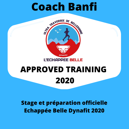 APPROVED TRAINING 2020 Echappée Belle Coach Banfi